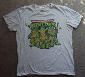 Vintage Teenage mutant ninja turtles T Shirt Size XL Cotton mens