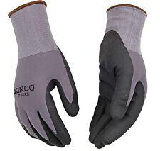 Kinco 1888 NYLON SHELL MICRO-FOAM NITRILE PALM mens work glove Breathable New