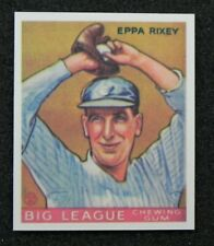 Eppa Rixey 1933 GOUDEY GUM COMPANY Reprint Card #74 from Dover