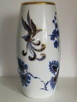 Grosse Porzellan Vase SCHUMANN ARZBERG Bodenvase 50er 60er 70er ECHT KOBALT Blau