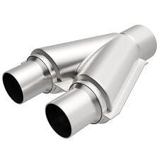 "Magnaflow Exhaust 10778 Stainless Steel Y-Pipe Single 3"" Diameter To Dual 2-1/2"""