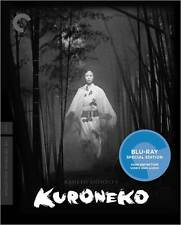 CRITERION COLLECTION: KURONEKO  (B&W) - BLURAY - Region A - Sealed