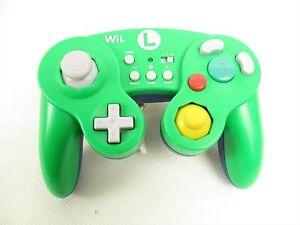Hori Junk Wii U Classique Manette Luigi WIU-075 Pour Nintendo / 1233 Japon