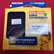 Digital Camera Mini Battery Charger Kit SDM-180 JVC Vf808 Video DC 12v 600mAH EU