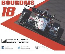 2017 INDY 500 SEBASTIEN BOURDAIS FRANCE COYNE RACING INDYCAR 8x10 HERO CARD !