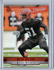 2019 Prestige Xtra Points Red #273 Mack Wilson Cleveland Browns 391/399