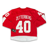 Fanatics Detroit Red Wings  Henrik Zetterberg Stitched Jersey #40 Size XL