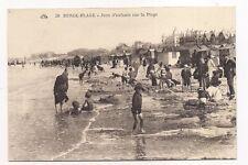 berck plage  jeux d'enfants sur la plage