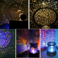 Star Sky Projector Night Light Lamp Romantic Cosmos Astro Galaxy Home Decor