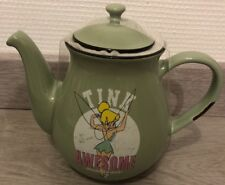 THEIERE / Tea-pot TINK AWESOME / Fée Clochette impressionnant / Disneyland Paris