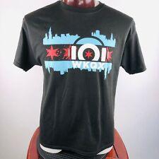 WKQX Q101 Chicago Pop Radio Mens L Graphic T Shirt