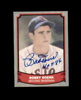 Bobby Doerr Hand Signed 1988 Pacific Boston Red Sox Autograph