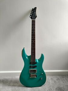 Samick Vintage Electric Guitar Stratocaster With Sculpted Body Super Low