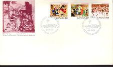 Canada - Christmas - 1040-2 U/A Fdc - Canada Post Cachet - 1984