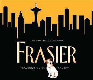 Frasier : Season 1-11 DVD BOX SET (Pal, 2009, 44-Disc Set) Free Post