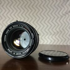 Canon FD 50mm f/1.4 S.S.C Lens