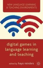 Digital Games In Language Learning And Teaching (new Language Learning & Teac...