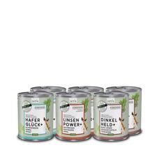 naftie veganes Hundefutter Bio Nassfutter Mixpaket mit 3 Sorten, 6x800g