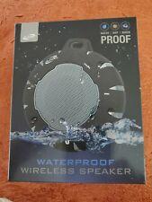 Waterproof Dustproof Shockproof Bluetooth Wireless Speaker, New 4A