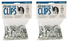 Miller Manufacturing Acc1 Wire Cage Clips Pack of 2