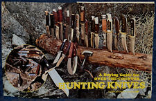 """Vintage Original Article """"Buying Guide For Hunting Knives"""" 7-p Magazine 1972"""