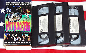 Hot Rockers (VHS, Box Set) Anthrax Overkill Pantera Exodus Forced Entry Metal