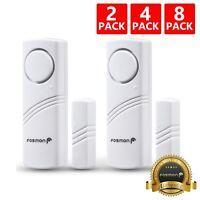 Wireless Window/Door Entry Security Burglar Alarm Chime Doorbell Magnetic Sensor