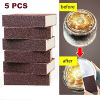 5Pcs Magic Nano Emery Sponge Brush Home Kitchen Cleaning Sponge Rust Clean Tools