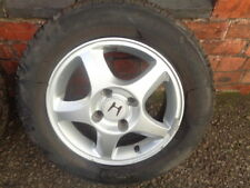 #3 HONDA ACCORD 2001 ALLOY WHEEL 5 SPOKE 4 STUD 195 65 15 TYRE 15 INCH WHEEL