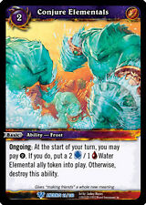 WOW WARCRAFT TCG WAR OF THE ANCIENTS : CONJURE ELEMENTALS X 4