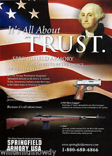 2003 SPRINGFIELD ARMORY 1911 Micro Compact PISTOL & RIFLE AD Advertising