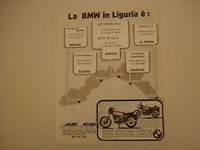 advertising Pubblicità 1979 MOTO BMW R45 R 45 - R65 R 65