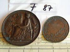Medaille Frankreich Societe Imperiale et Centrale des Architectes (F87)