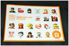 Medicom Toy Japan 2013 Catalogue vol 9 Rare Japanese version figure Kubrick toy