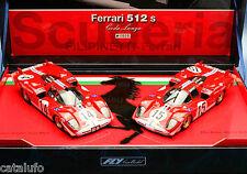 Fly TEAM02  0000  Ferrari 512S - Team Scudera 1970  Slot Car. NEW. BOX 1/32 New