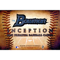 2015 BOWMAN INCEPTION BASEBALL FACTORY SEALED HOBBY BOX IN STOCK FREE SHIPPING