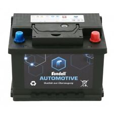 Rondell Autobatterie Starterbatterie Wartungsfrei 530A 12 Volt V 53Ah bis 62Ah