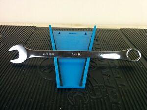 #aj767 NEW!  SK PROFESSIONAL TOOLS 88524 Combo Wrench,Steel,Metric,15 deg.
