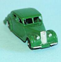 DINKY Meccano England original 1947 RILEY SALOON #40a Dark Green