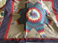 QUILT STAR PANEL BY MARTI MITCHELL FOR SPRINGS