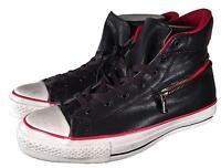 Converse X by John Varvatos Chuck Taylor Back Zip Hi LEATHER BLACK 145379C