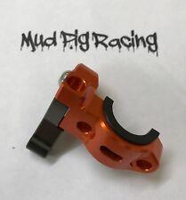 KTM 4 STROKE HOT START LEVER ROTATING CLUTCH PERCH CLAMP ORANGE