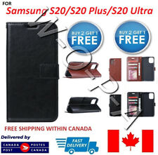 Samsung S20 /S20 FE/ Plus / Ultra PU Leather Pouch Flip Cover Wallet Phone Case