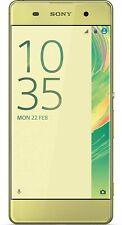 Sony Xperia XA 16GB Smartphone 13 MP-Kamera 5 Zoll (12,7 cm) Display Lime-Gold