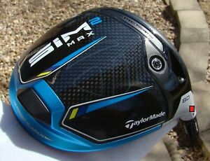 TAYLORMADE TOUR ISSUE ONLY 8* SIM2 MAX DRIVER HEAD BRAND NEW UNHIT w/HEADCOVER