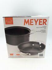 Meyer 2 Piece Multi-Functional Cookset: Black (Sor129)
