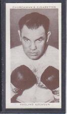 Churchman - Boxing Personalities 1938 - # 36 Paolino Uzcudun