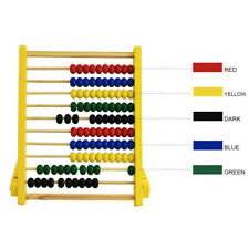 Kids Gooden Bead Abacus Counting Frame Educational Learn Maths Creative Toy Hot