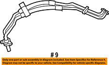 CHRYSLER OEM Pacifica Auxiliary A/C AC Heater Unit-Heated Air Tube 68313467AA