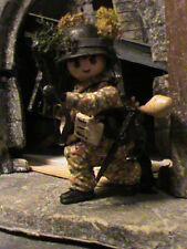 PLAYMOBIL CUSTOM SOLDADO WAFEN GREEN DIVISION (EUROPA-1944) REF-0600 BIS